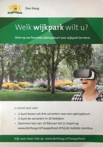 VR in Wijkpark