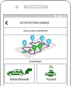 Voertuigemissie app by Ismaël Harraou