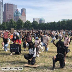 BLM Protest op het Malieveld